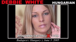 Casting of DEBBIE WHITE video