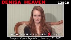 Casting of DENISA HEAVEN video