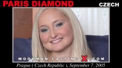 Casting of PARIS DIAMOND video