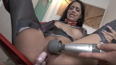Julia De Lucia:Sex Cyborg-Vibrator Orgasm