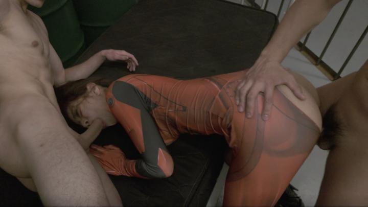 Nami Amami:Sex Cyborg OP-Interracial Threesome!