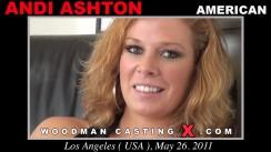 Casting of ANDI ASHTON video