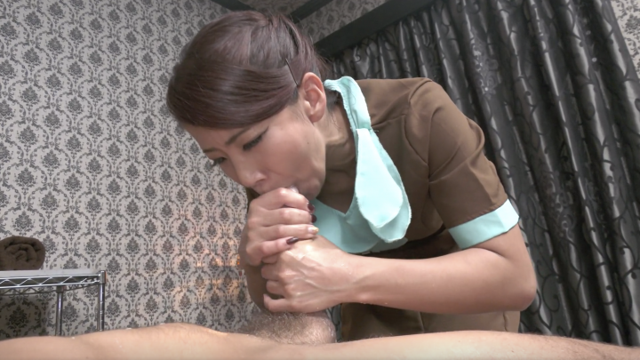 Nami Amami:Oil Massage-Interracial Blowjob&Handjob