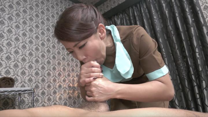 Nami Amami:Oil Massage-Interracial Blowjob&Handjob