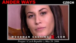 Casting of ANDER WAYS video