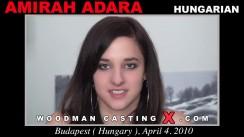 Casting of AMIRAH ADARA video