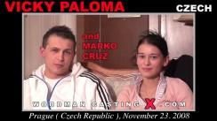 Casting of VICKY PALOMA video