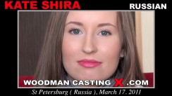 Casting of KATE SHIRA video