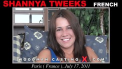 Casting of SHANNYA TWEEKS video