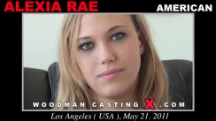 Casting of ALEXA RAE video