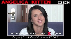 Casting of ANGELICA KITTEN video