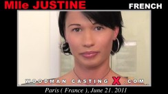 Casting of Mlle JUSTINE video