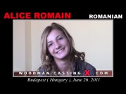 See the audition of Alice Romain
