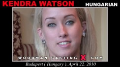 Casting of KENDRA WATSON video