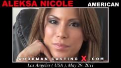 Casting of ALEKSA NICOLE video
