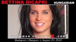 Casting of BETTINA DICAPRI video