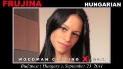 Casting of FRUJINA video