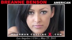 Casting of BREANNE BENSON video