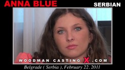 Casting of ANNA BLUE video