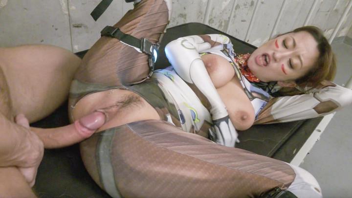 Mio Shidou:Sex Cyborg OP-Interracial Creampie!