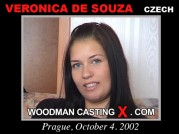 See the audition of Veronica De Souza