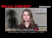 See the audition of Milla Vincent
