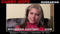 Casting of CANDY HOPE video