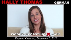 Casting of HALLY THOMAS video