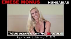 Casting of EMESE MONUS video