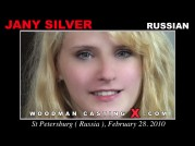 See the audition of Jany Silver