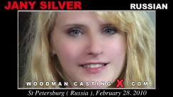 Casting of JANY SILVER video