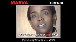 Casting of MAEVA video
