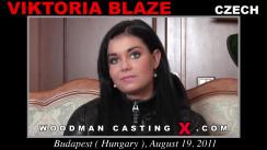 Casting of VICTORIA BLAZE video