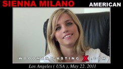 Casting of SIENNA MILANO video