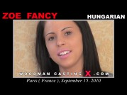 See the audition of Zoe Fancy