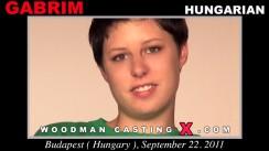 Casting of GABRIM video