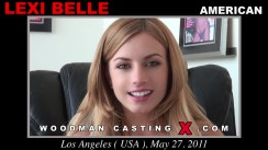 Casting of LEXI BELLE video