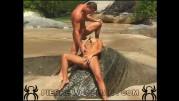 Sunny Blue - XXXX - love on the beach + 1 boy