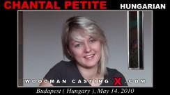 Casting of CHANTAL PETITE video