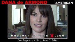 Casting of DANA DE ARMOND video