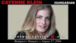 Casting of CAYENNE KLEIN video