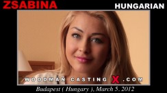 Casting of ZSABINA video