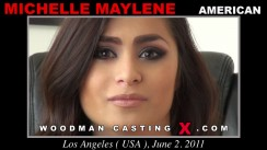 Casting of MICHELLE MAYLENE video