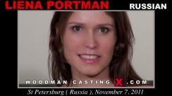 Casting of LIENA PORTMAN video