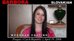 Casting of BARBORA video