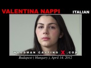 See the audition of Valentina Nappi