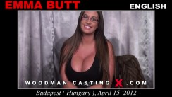 Casting of EMMA BUTT video