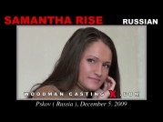 See the audition of Samantha Rise