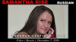 Casting of SAMANTHA RISE video