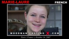 Casting of MARIE-LAURE video